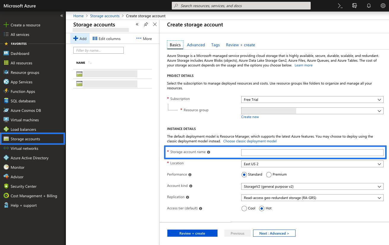 Braze Microsoft Azure Blob Storage